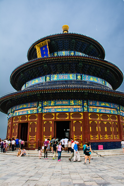 Exploring the Temple of Heaven.