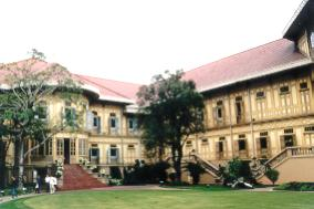 Teakwood mansion of Rama V.