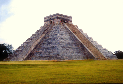 Temple at Chichen Itza.