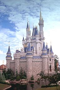 Cinderella Castle at Disney World.