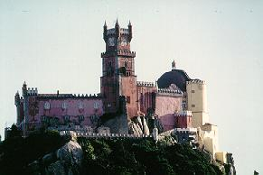 Pena Castle in Sintra, Portugal.