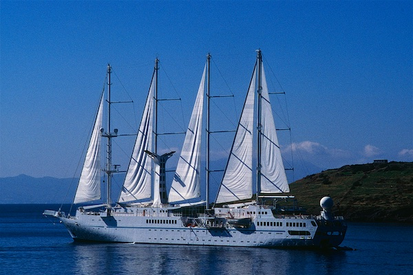 Wind Star cruise ship.
